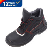 Stylish Industrial Leather Work Footwear Safety Shoes Ly-2725