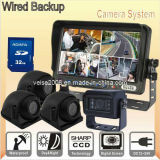 Tour Bus DVR Quad Rear View System (DF-7370A5014DVR)