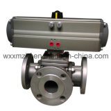 180 Degree Double Acting Pneumatic Rotary Actuator for Valve