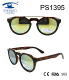 2017 Demi Brown Fationable Sunglasses with Metal (PS1395)