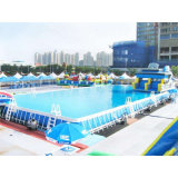 Customized Metal Frame Pool Stent Pool Inflatable Ground Pool Manufacture China