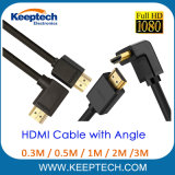 HDMI Cable with Angle 90 Degree Left Turn Right Turn Any Length for HDTV 1080P