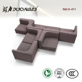 H411 Modern Office Leaisure Combined Sofa Set 1+1+3