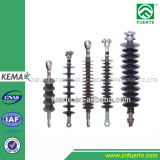 Polymer Pin Type Insulator 24kv with Silicone Rubber Housing