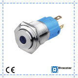 Waterproof Momentary 16mm Metal Push Button Switch with Ce Certificate