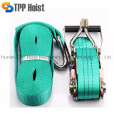 Green Polyester TUV Certified Ratchet Tie Down