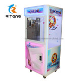 Coin Operated Plush Toy Claw Crane Machine for Leisure Center