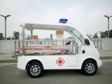 Ymj-J604A Open Type Professional Electric Ambulance Car with First Aid Tool