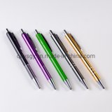 1.0mm Tip Diameter Metal Ball Pen for Office Supply Stationery