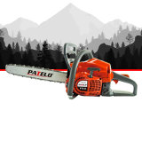 Richope Patelo PT140 Chainsaw High Quality Wood Tree Cutting Machine Gasoline Petrol Chain Saw 40cc 2 Stroke 16 18 20 Inches Bar Ce