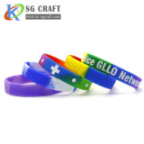 Cheapest Price Professional Design No MOQ Silicone Charm Bracelet Silicone Slap Bracelets Silicon Bracelet Custom
