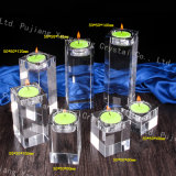 Crystal Glass Candle Holders Wholesale Rectangle