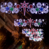 Outdoor LED Christmas Rope Motif Lights for Main Street Decorations
