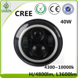 7inch Round 40W Hi/Lo Beam LED Car Light LED Headlights with DRL