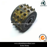 Diamond Bush Hammered Roller Without Support Stand 45 Pins