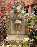 Carved Marble Wall Fountain