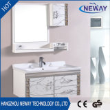 Waterproof Stainless Steel Wall Bathroom Vanity Cabinet, Hotel Luxury Bath Furniture