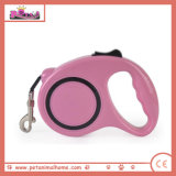 Different Colors Automatic Retractable Dog Leash for Wholesale in Pink