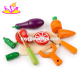 New Hottest Pretend Play Wood Food Cut Set Toy for Children W10b222