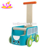 New Arrival First Steps Wooden Baby Walking Aid with Storage W16e106
