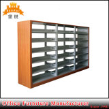 Fas-064 School Furniture Double Side Book Shelf Metal Library Bookcase