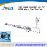 PE High Pressure Plastic Pipe Extruder Production Line
