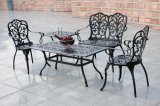 Terrace Furniture Outdoor Bistro Chair Aluminum/Cast Aluminum Chair/Embossed Metal Furniture Holiday Resort Restaurant Chairs