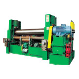 Three Roller Hydraulic Plate Rolling Machine