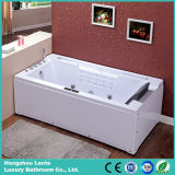 Single Person Rectangle Acrylic Massage Bathtub with Pillow (TLP-669)