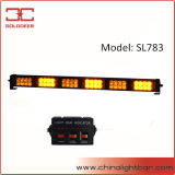 48W Amber LED Directional Traffic Advisor Strobe Light Bar