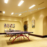 Promotion Table Tennis PVC Sports Flooring with Wooden Color