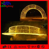 Warm White Outdoor Decoration LED Motif Huge Street Arch Light