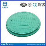 Green Color Best Price Manhole Cover with Frame