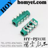3.5mm 6pin SMT Phone Jack /Audio Jack (HY-Pj313e)