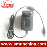 24W 12V 2A Wall Mounting Plug in Power AC/DC Adapter