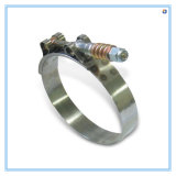 T-Bolt Spring Tubing Coupling with High Destruction Torque Feature