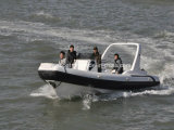 Liya 7.5m Rigid Boats Central Console Boat Inflatable Hard Bottom Boats