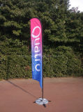 Wholesale Feather Custom Beach Flag with Aluminum Pole Thickness 1.2mm