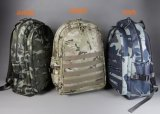 Canvas Waterproof and Camouflage Computer Double Shoulder Backpack Bags Yf-Pb0066