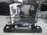 High Quality Natural Black Monument/ Tombstone for Sale