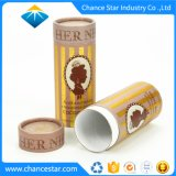 Custom Color Printing Foil Paper Packaging Tube for Cocoa Nibs