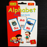 Alphabet Pocket Paper Flash Playing Cards