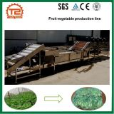 Fruit and Vegetable Processing Line with Washing Cutting Drying and Packing Machine