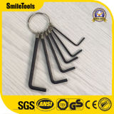 8PCS Cr-V Hex Key Set Hexagon Key Wrench Set