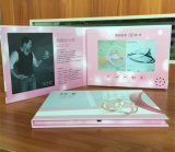 Low Cost Invitation LCD Video Brochure Paper Business Card 7 Inch Screen Video Greeting Card