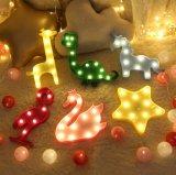 26 English Letter Lights, LED Symbols, Luminous Indicators, Wedding Festival Decorative Night Light