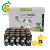 Printed Biodegradable Pet Dog Poop Bag on Roll with Factory Customized Wholesale Price