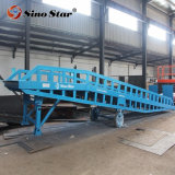 6 8 10 12 15 Ton Hydraulic Mobile Container Access Forklift Ramps Equipment