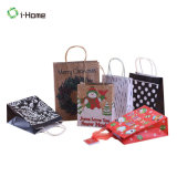 Cheap Wholesale Christmas Eve Shopping Carrier Gift Paper Bag
