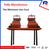 Pully Manufacture High Efficiency in Harsh Working Condition Twin Shaft Large Mixer (JS500-JS1500)